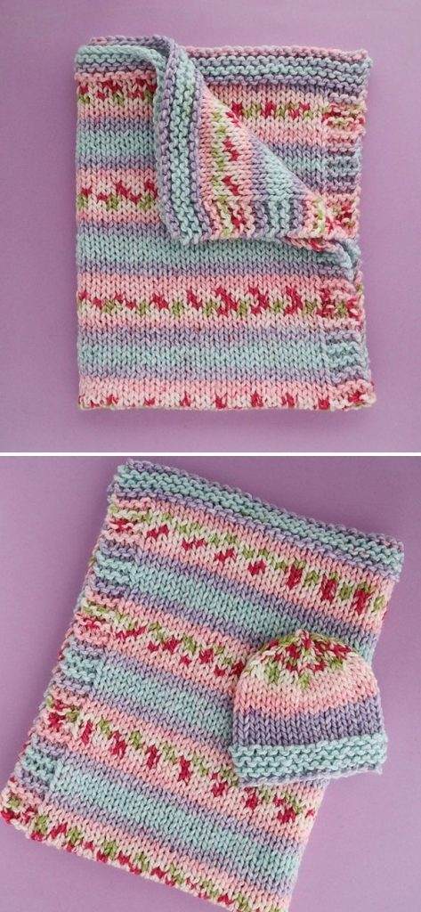 Pretty Blooms Baby Blanket