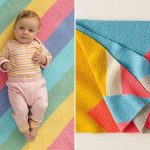 Easy Colorful Knitted Blankets