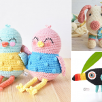 Cute Fun And Colorful Amigurumi Ideas