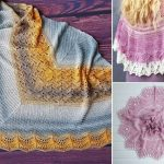 Stunning Knitted Shawl Borders