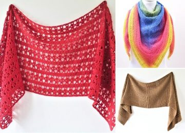 minine And Elegant Sophisticated Crochet Wraps