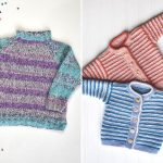 Striped Knitted Designs for Kids