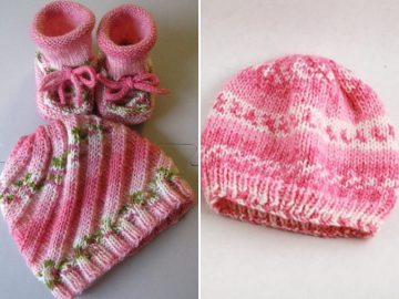 sweet girly baby hats