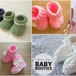 10 Cute Very Easy Baby Crochet Booties
