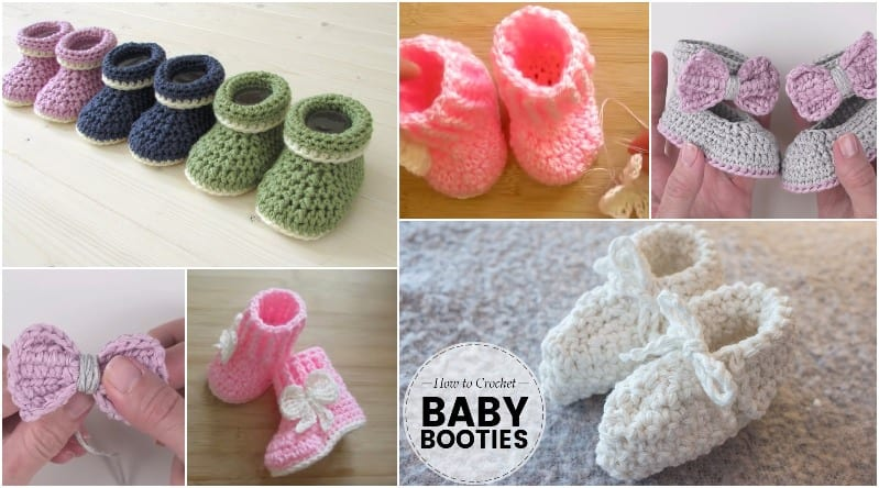 Infant Girl Socks With Crocheted Shell Stitch-Size 0-6 Months-Trio Of Blues