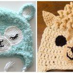 Llama Cozy Hats
