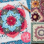 Beautiful Fun Crochet Afghan Squares
