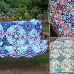 Beautiful Vibrant Intricate Crochet Throws