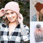 Chunky Comfy Crochet Beanies