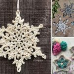 Crochet Snowflakes Ornaments