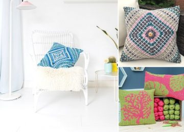 Cute and Cozy Crochet Pillows