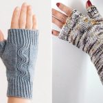 Easy Knitted Mitts