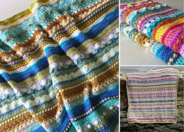 Energetic Crochet Blanket CAL