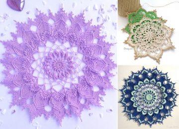 Interesting And Beautiful Crochet Doilies