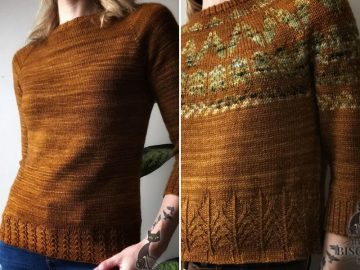 Rusty Knitted Sweaters