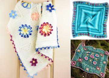 Soft Crochet Baby Blankets