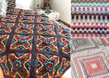 Stunning Modern Crochet Blankets