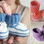 Super Cute Crochet Booties