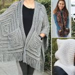 The Best Warm Crochet Pocket Scarves