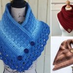 Trendy Colorful Crochet Cowls