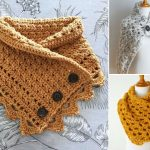 Comfy Buttoned Cowls