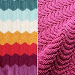 Wavy Knitted Blankets