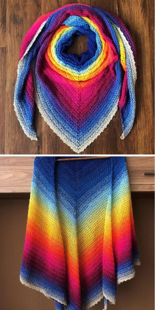 Summer Dream XXL crochet wrap