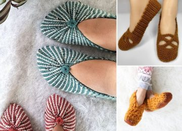 Cute And Comfy Crochet Home Slippers