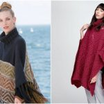 Cute Knit Poncho Free Patterns