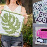 Tapestry Afghan Crochet Squares