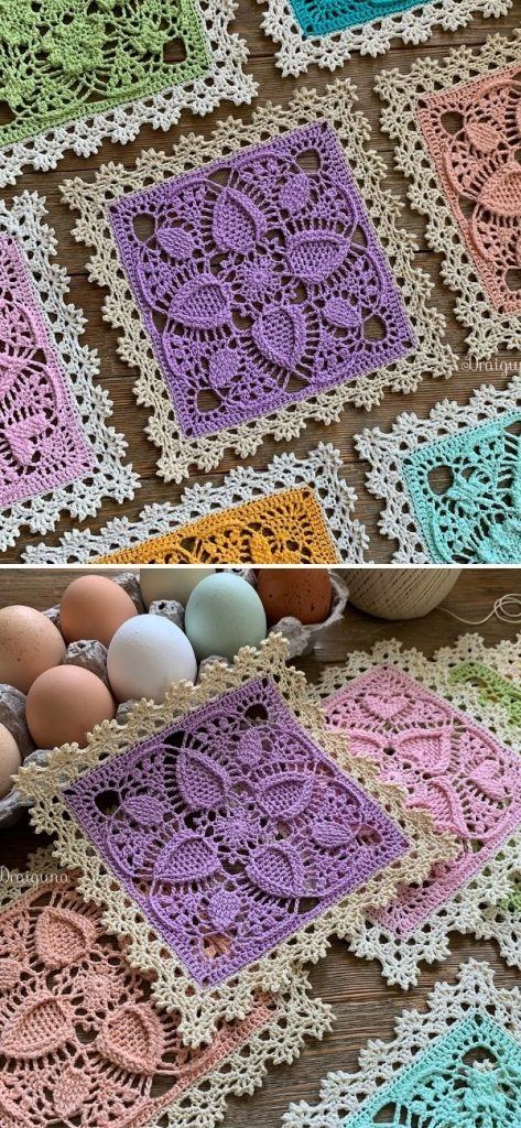Easter Egg Square