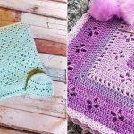 Diamonds Vintage Baby Blanket