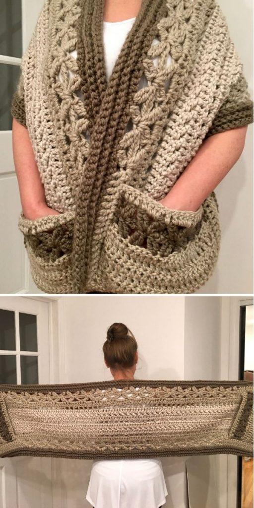 Pocket shawl
