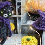 Halloween Ami Cat Free Pattern