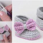 How To Crochet Easy Baby Booties