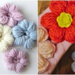 How to crochet Flower Puff Crochet