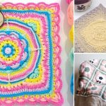 Beautiful Vibrant Crochet Baby Blankets
