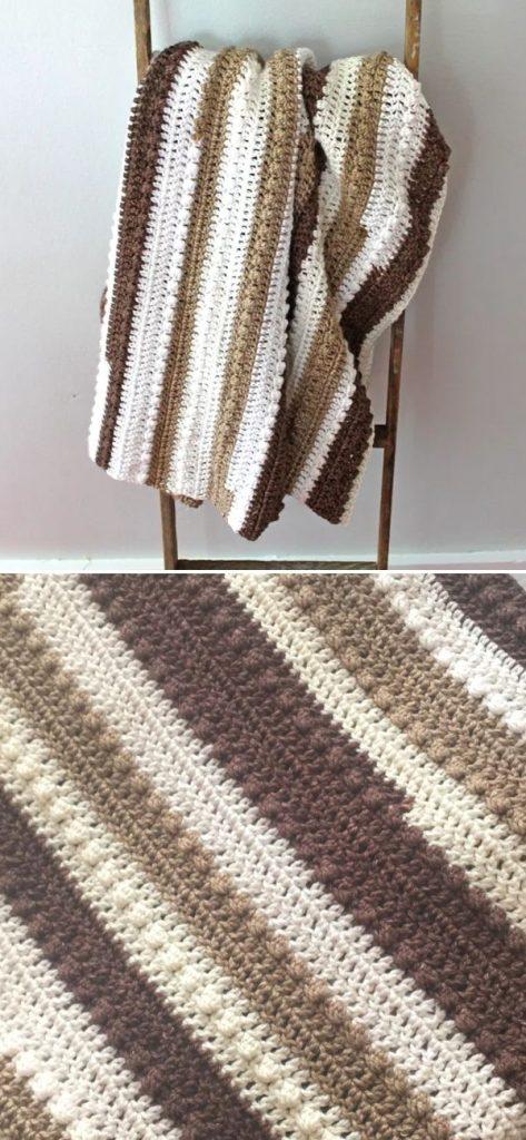 Dainty Dot Crochet Baby Blanket Pattern – Lightweight