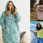 Comfy Feminine Crochet Hoodies