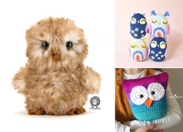 Adorable And Easy To Crochet Owls