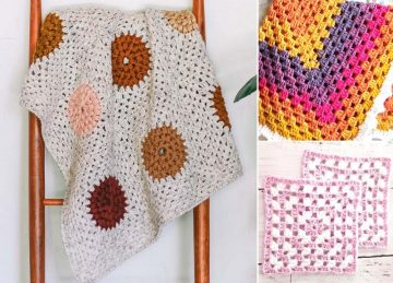 Adorable Granny Baby Blankets