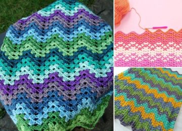 Beautiful Granny Ripple Blankies