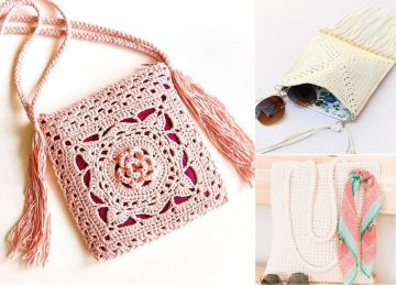 Blocks and Bags Crochet Ideas
