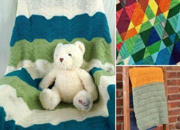 Colorful Fun Crochet Blankets