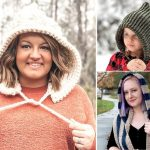 Cosy and Easy to Make Crochet Hoods