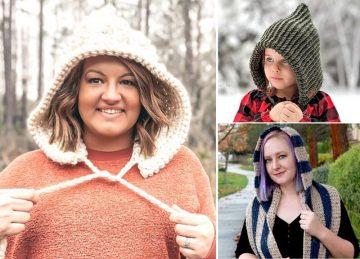 Cosy Crochet Hoods Free Crochet Pattern