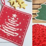 Crochet Christmas Potholder Patterns