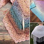 Feminine Granny Crochet Shawls