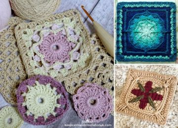 Intricate and Beautiful Crochet Squares