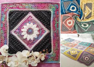 Lovely Charlotte Square Crochet Ideas